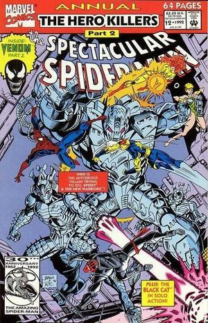 SPECTACULAR SPIDER-MAN ANNUAL (1976) #12