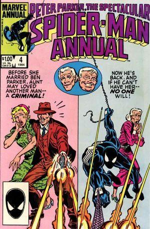 SPECTACULAR SPIDER-MAN ANNUAL (1976) #4