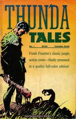 FRANK FRAZETTAS THUNDA TALES (1987) #1