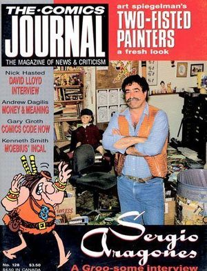 COMICS JOURNAL (1977) #128