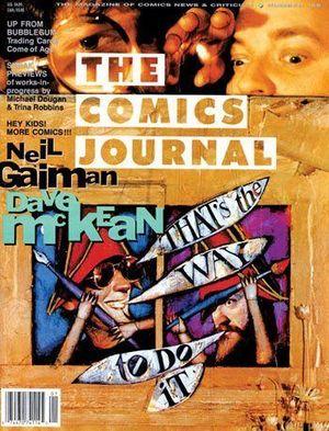 COMICS JOURNAL (1977) #155