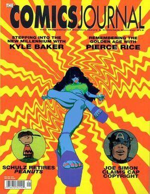 COMICS JOURNAL (1977) #219