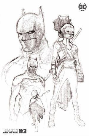 BATMAN BLACK AND WHITE (2020) #3 2ND