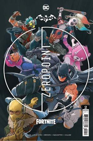 BATMAN FORTNITE ZERO POINT (2021) #2 2ND