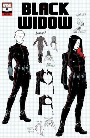 BLACK WIDOW (2020) #6 DESIGN