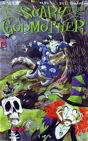 SCARY GODMOTHER WILD ABOUT HARRY (2000) #1-3