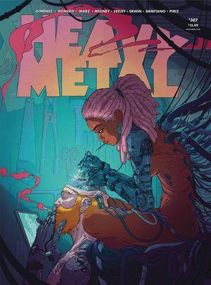 HEAVY METAL MAGAZINE (1977) #309