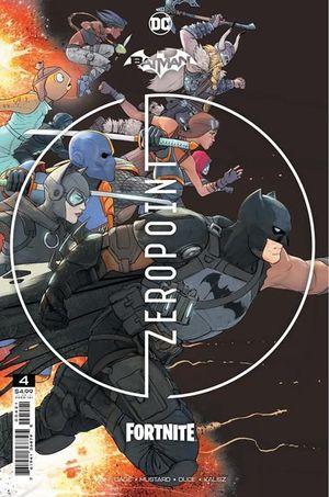 BATMAN FORTNITE ZERO POINT (2021) #4 2ND
