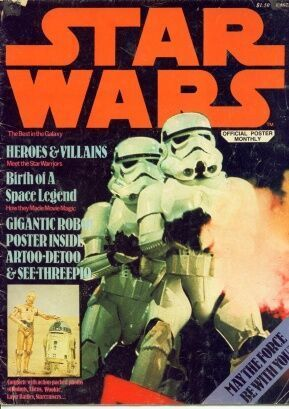 STAR WARS OFFICIAL POSTER MONTHLY (1977) #1-7