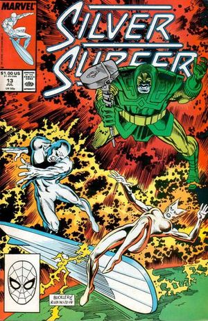 SILVER SURFER (1987 2ND SERIES) #11