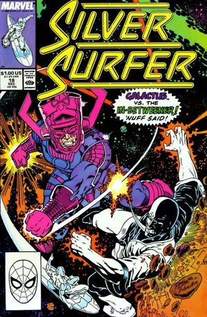 SILVER SURFER (1987 2ND SERIES) #18