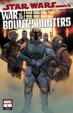 STAR WARS WAR BOUNTY HUNTERS (2021) #1 YU