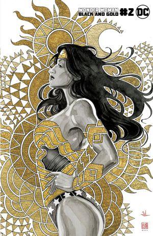 WONDER WOMAN BLACK & GOLD (2021) #2 1:25