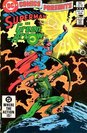 DC COMICS PRESENTS (1978) #54