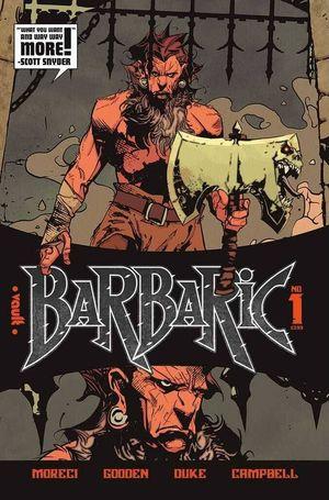 BARBARIC (2021) #1 2ND