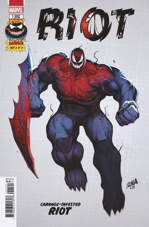 EXTREME CARNAGE RIOT (2021) #1 1:10