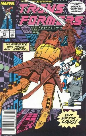 TRANSFORMERS (1984 MARVEL) #60